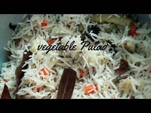 Restaurant Style Vegetable Pulao Recipe (Quick and Easy Restaurant Style Vegetable Pulao)