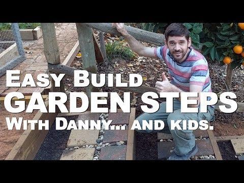 Easy Build Garden Steps