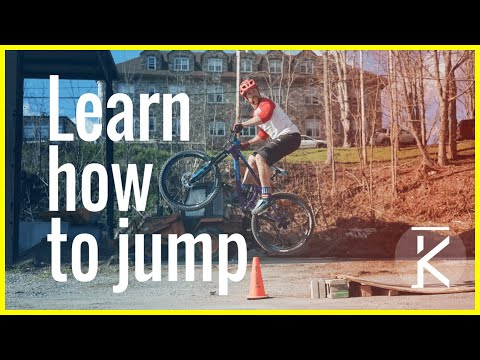 How to Jump a mountain bike beginner tutorial | Skills With Phil