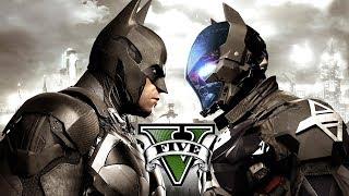 BATMAN VS ARKHAM KNIGHT - GTA V MOD!!!