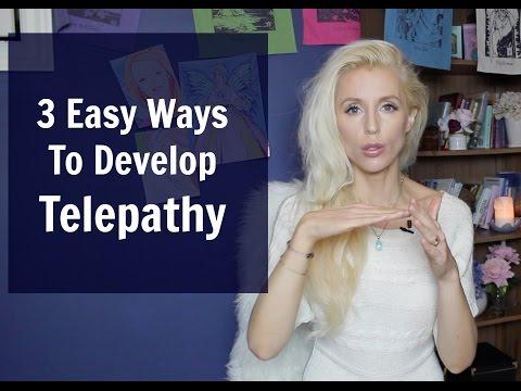 3 Easy Ways To Develop TELEPATHY