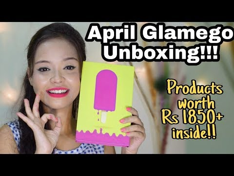 APRIL GLAM EGO BOX UNBOXING AND REVIEW || Affordable Subscription box in India || Sayantani Some
