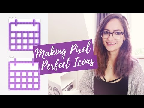 Pixel-perfect icons for web design - tutorial | CharliMarieTV