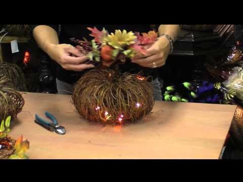 Grapevine Pumpkin Craft Kit