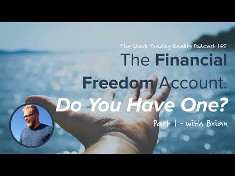 STR165: The Financial Freedom Account. Do You Have One? (Part 1) Audio only