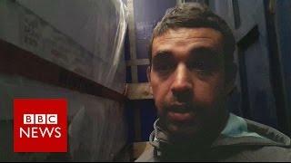 Exodus: How I was smuggled into the UK - BBC News