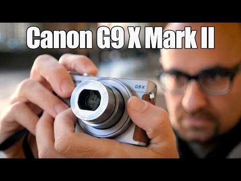 Canon G9 X Mark II, la cámara con sensor de 1 pulgada más pequeña del mercado