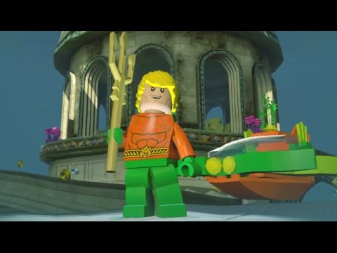 LEGO Dimensions - Aquaman Open World Free Roam (Character Showcase)