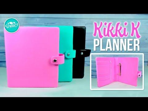 DIY KIKKI K PLANNER - DIY AGENDA 2017 | DREEN