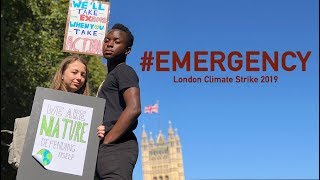 #EMERGENCY - Live at Climate Strike London | Spirit Young Performers Company