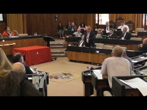 Diary 24th May 2018 - asking for answers at council