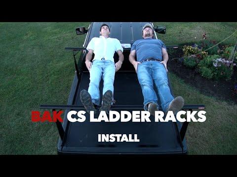 Bak BakFlip CS ProRac Ladder Rack System Install