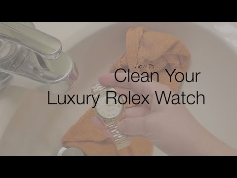 How to Clean Your Rolex Watch