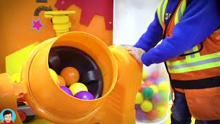Fun Playground for kids Family fun Play Area Ride on Power Wheels cars Compilation video for kids