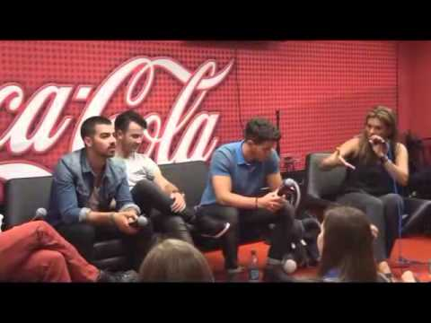 The Jonas Brothers Invade 103.5 KISS FM