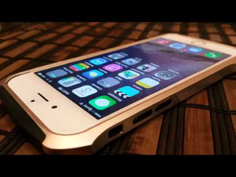IPhone 6 - Draco Ducati Metal Bumper Case posing