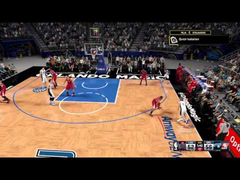 NBA 2k16 how to get alley opp finisher badge in one game
