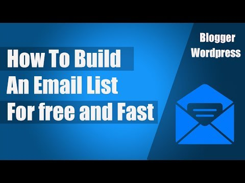 How To Build an Email List for free and Fast subscriber | Popup Email Form on Blogger Or Wordpress |