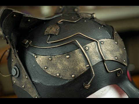 DIY Steampunk (or not) Mask for Catwoman Costume Ramble