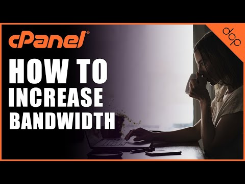 How to increase bandwidth and disk space for CPanel account using WHM