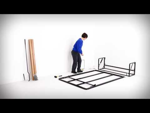 Wall Bed King Classic Murphy Bed / Wall Bed Assembly & Installation