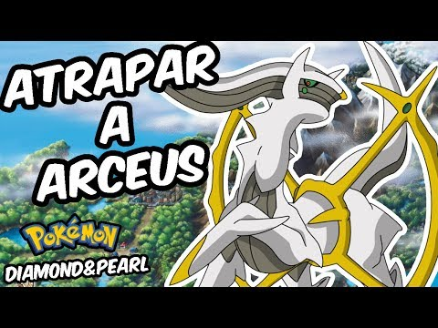 CAPTURAR A ARCEUS EN POKÉMON DIAMANTE Y PERLA | Tweaking/Void Glitch