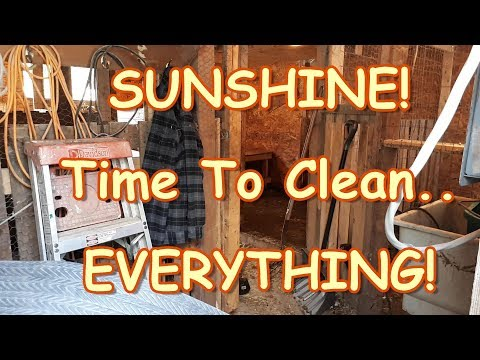 Spring Clean Up Time Around The Homestead!
