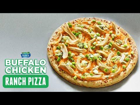 Buffalo Chicken Ranch Pizza Recipe