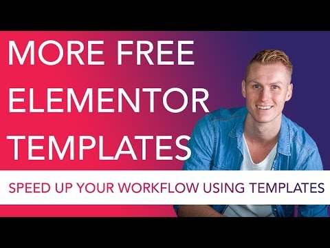More Free Elementor Templates
