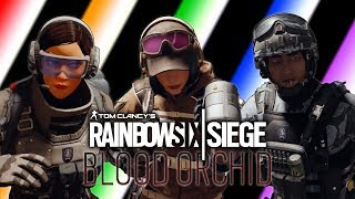 Rainbow Six Siege - OP: Blood Orchid Funny Moments! (New Ops/Map, Thicc Meter, Ela Montage & More!)