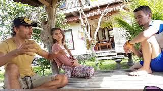 Интервью на Бали  Ара и Анна Аруш  Часть 2