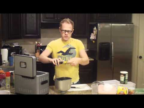 Making Banana Walnut Bread with a Cuisinart Breadmaker and Matt Granato