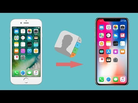 Transfer iPhone 6/6s/6 Plus Contacts to iPhone X without iCloud and iTunes