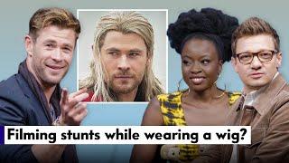 "Chris Hemsworth, Jeremy Renner, & Danai Gurira Answer ""Avengers"" Fan Questions | Vanity Fair"