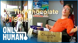The Selfless Cerebral Palsy Chocolate Seller (Extraordinary Human Documentary) | Only Human