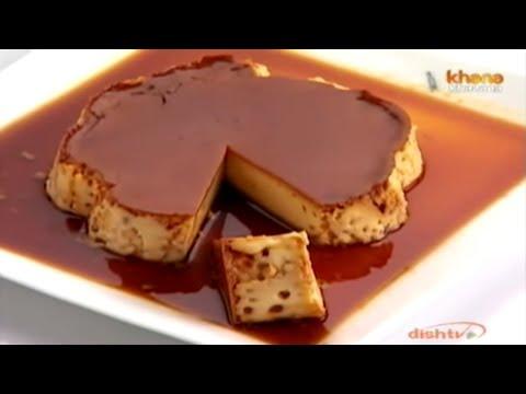 Caramel Custard - Sanjeev Kapoor - Khana Khazana