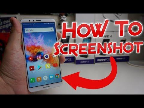 How To Take A Screenshot With The Huawei Mate SE