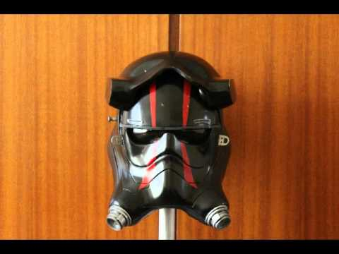 First Order Tie pilot helmet (Star wars the force awakens)