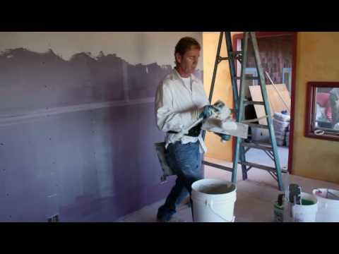 Teaching Veneer plaster finish materials, look for veener list below