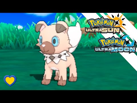 HOW TO GET Rockruff in Pokemon Ultra Sun and Moon