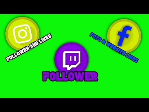 HOW TO GET INSTAGRAM FOLLOWER/LIKES, FACEBOOK LIKES AND TWITCH FOLLOWER HACK