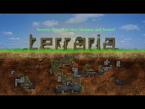 Terraria Xbox 360: New Weapons and Armor! How to Craft