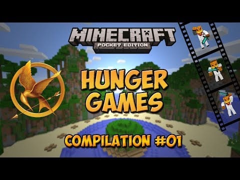 Hunger Games MCPE - Compilation n°1 - Minecraft Pocket Edition - LBSG