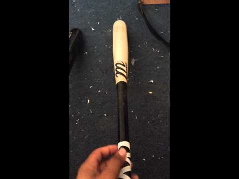 How to pick out a good wood bat