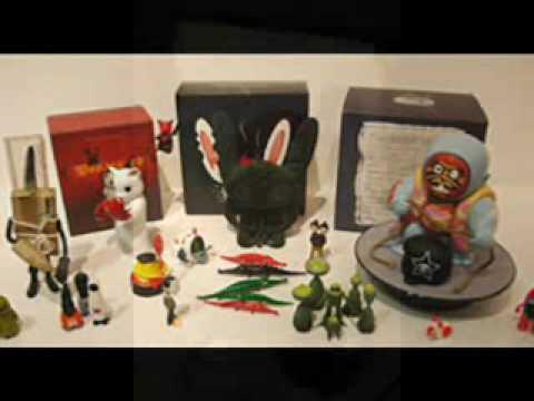 Designer Vinyl Art Toys & Customs (REMIX)