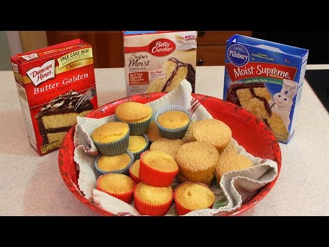 Taste Test to See Who Makes the Best Cupcake Mix