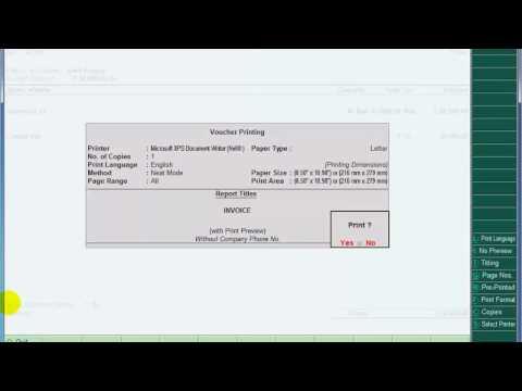 Tally.erp 9 in hindi insert company logo in invoice