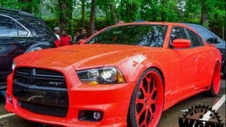 """Gucci Mane Widebody Charger SRT8 on 26"""" Forgiatos www.WhipsByWade.com"""