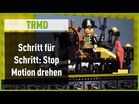 Wie dreht man einen Stop Motion Film mit Lego?