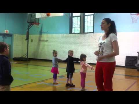 Children learn ballroom dance from Champ